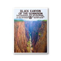 Black Canyon Of The Gunnison National Park Poster - Albion Mercantile Co.