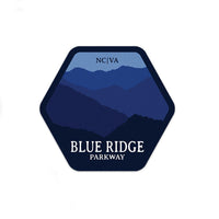 Blue Ridge Parkway Sticker | National Park Sticker | National Park Decal | - Albion Mercantile Co.