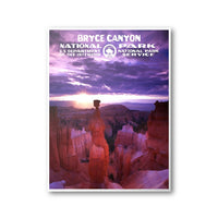 Bryce Canyon National Park Poster - Albion Mercantile Co.