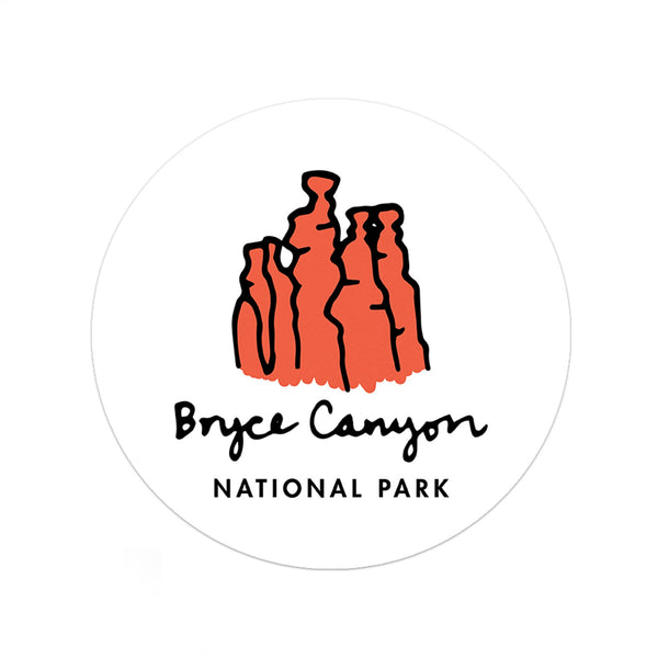 Bryce Canyon National Park Sticker - Albion Mercantile Co.