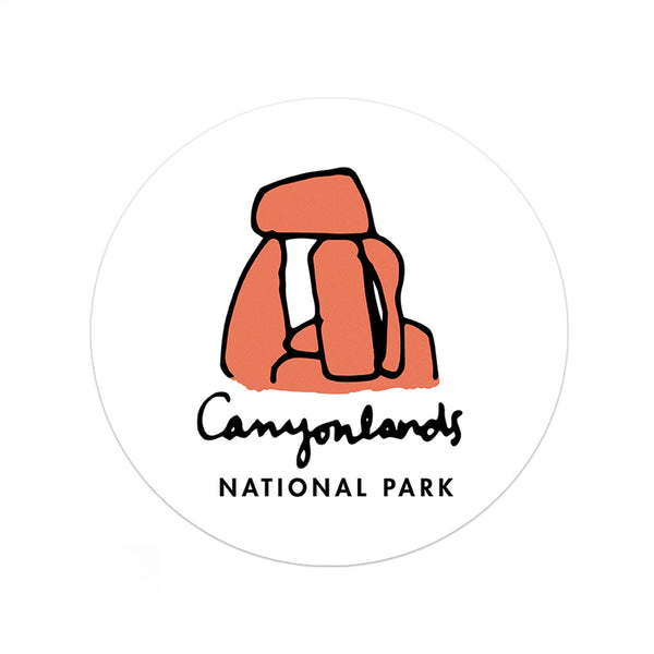 Canyonlands National Park Sticker - Albion Mercantile Co.