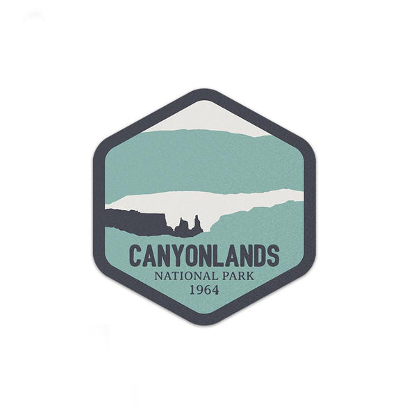 Canyonlands National Park Sticker | National Park Decal - Albion Mercantile Co.