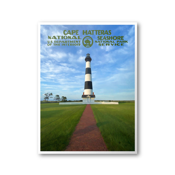 Cape Hatteras National Seashore Poster (Bodie Island)
