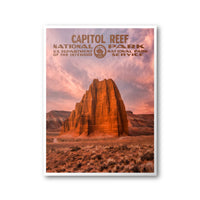 Capitol Reef National Park Poster - Albion Mercantile Co.