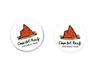 Capitol Reef National Park Sticker - Albion Mercantile Co.