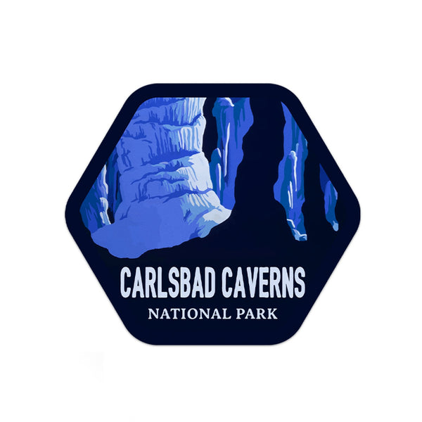 Carlsbad Caverns National Park Sticker | National Park Decal - Albion Mercantile Co.
