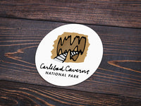 Carlsbad Caverns National Park Sticker - Albion Mercantile Co.