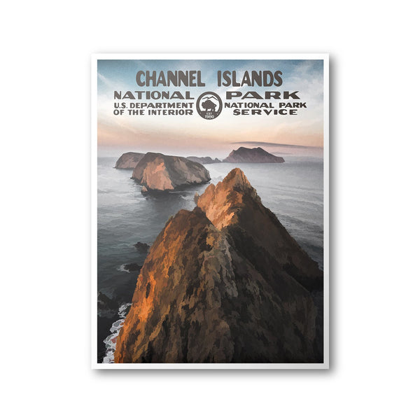 Channel Islands National Park Poster - Albion Mercantile Co.