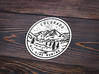 Colorado Sticker - Albion Mercantile Co.