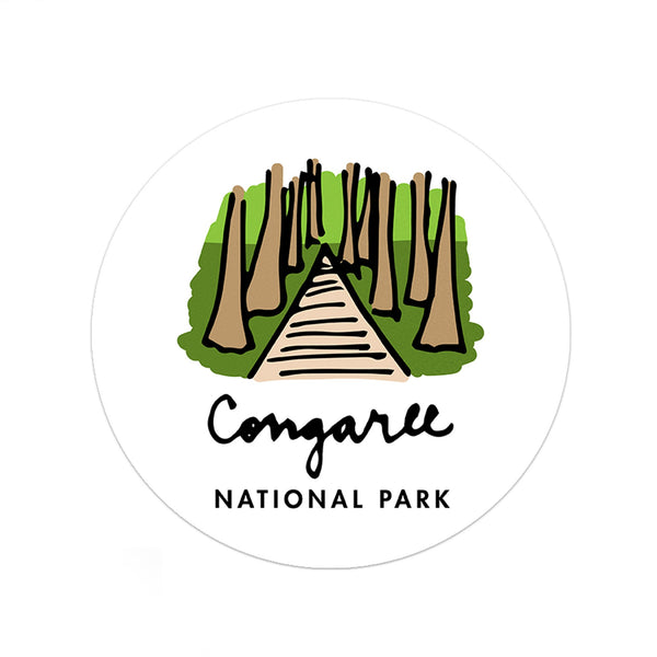 Congaree National Park Sticker - Albion Mercantile Co.