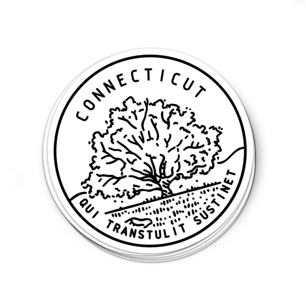 Connecticut Sticker - Albion Mercantile Co.