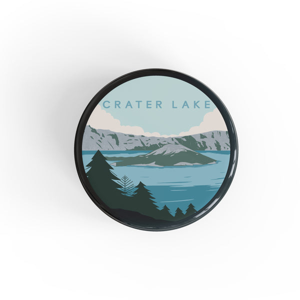 Crater Lake National Park Button Pin