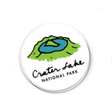 Crater Lake National Park Sticker - Albion Mercantile Co.