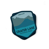 Crater Lake National Park Sticker | National Park Decal - Albion Mercantile Co.
