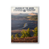 Craters Of The Moon National Monument Poster - Albion Mercantile Co.