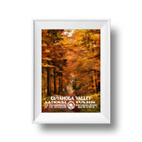 Cuyahoga Valley National Park Poster - Albion Mercantile Co.