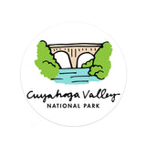 Cuyahoga Valley National Park Sticker - Albion Mercantile Co.