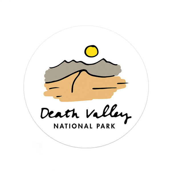 Death Valley National Park Sticker - Albion Mercantile Co.