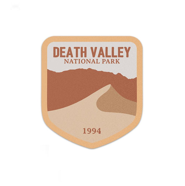 Death Valley National Park Sticker | National Park Decal - Albion Mercantile Co.