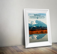 Denali National Park Poster - Albion Mercantile Co.