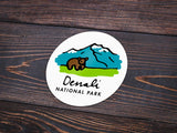 Denali National Park Sticker - Albion Mercantile Co.