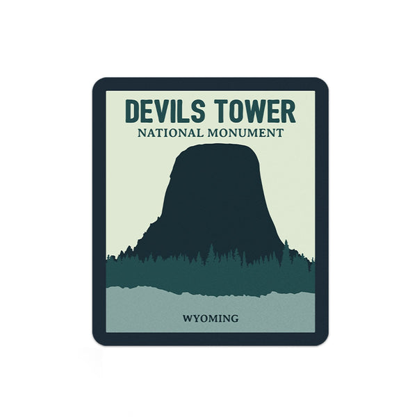 Devils Tower National Monument Sticker - Albion Mercantile Co.