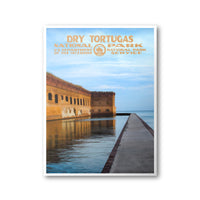 Dry Tortugas National Park Poster - Albion Mercantile Co.