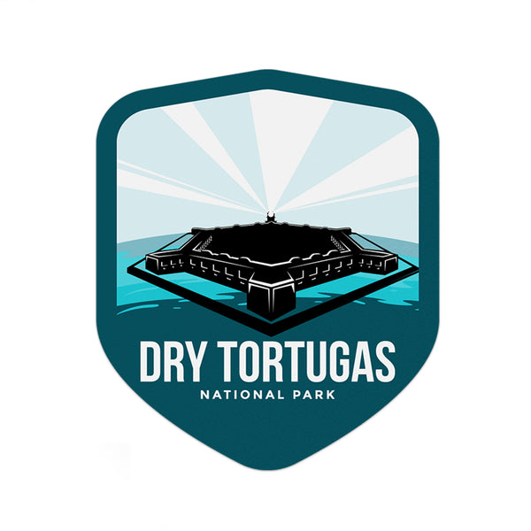Dry Tortugas National Park Sticker | National Park Decal