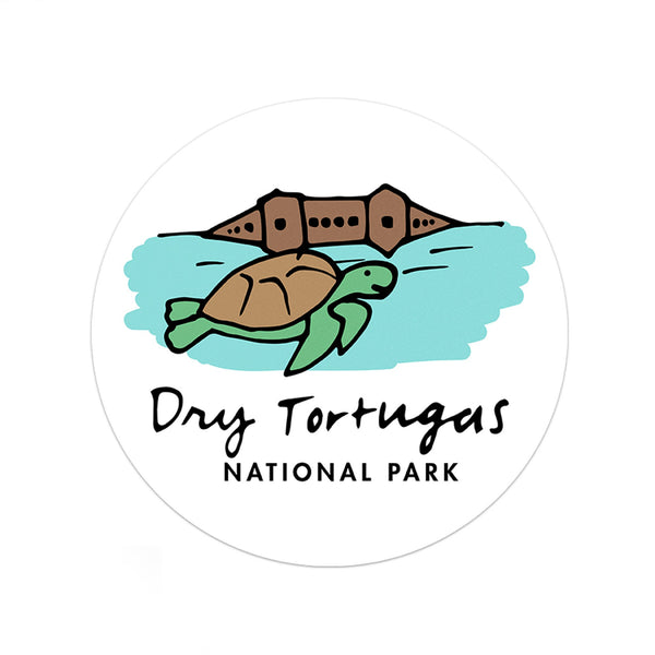 Dry Tortugas National Park Sticker - Albion Mercantile Co.