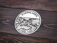 Everglades National Park Sticker | National Park Decal - Albion Mercantile Co.