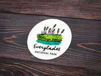 Everglades National Park Sticker - Albion Mercantile Co.