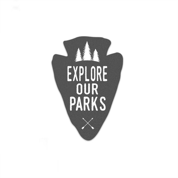 Explore Our Parks Sticker | National Park Sticker | National Park Decal - Albion Mercantile Co.