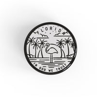 Florida Button Pin