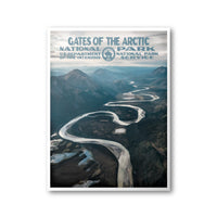 Gates Of The Arctic National Park Poster - Albion Mercantile Co.
