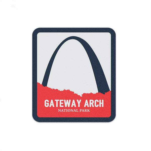 Gateway Arch National Park Sticker | National Park Decal - Albion Mercantile Co.