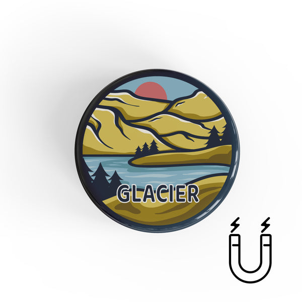 Glacier National Park Magnet