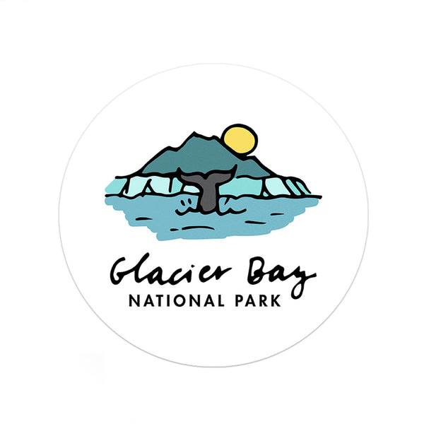 Glacier Bay National Park Sticker - Albion Mercantile Co.