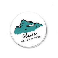 Glacier National Park Sticker - Albion Mercantile Co.