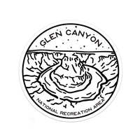 Glen Canyon National Recreation Area Sticker | National Park Decal - Albion Mercantile Co.