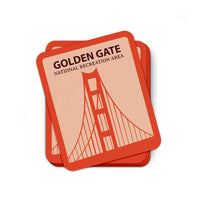 Golden Gate National Recreation Area Sticker | National Park Sticker | National Park Decal - Albion Mercantile Co.