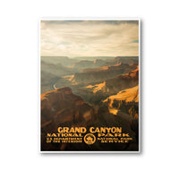 Grand Canyon National Park Poster - Albion Mercantile Co.