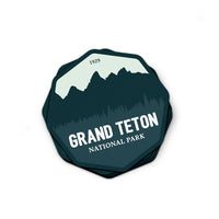 Grand Teton National Park Sticker | National Park Decal - Albion Mercantile Co.