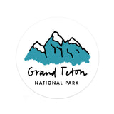Grand Teton National Park Sticker - Albion Mercantile Co.
