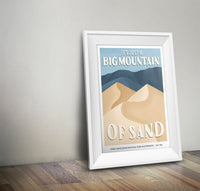 Great Sand Dunes National Park Poster | Subpar Parks Poster - Albion Mercantile Co.