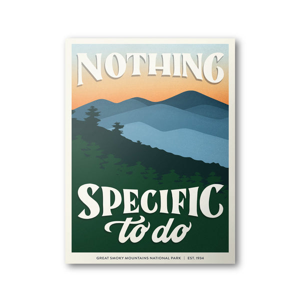 Great Smoky Mountains National Park Poster | Subpar Parks Poster - Albion Mercantile Co.
