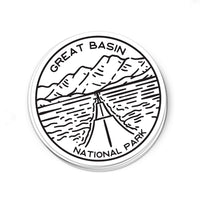 Great Basin National Park Sticker | National Park Decal - Albion Mercantile Co.