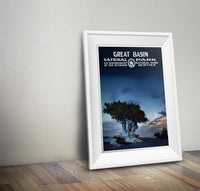 Great Basin National Park Poster - Albion Mercantile Co.