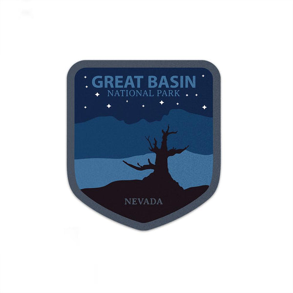 Great Basin National Park Sticker Night | National Park Decal - Albion Mercantile Co.