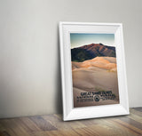 Great Sand Dunes National Park Poster - Albion Mercantile Co.