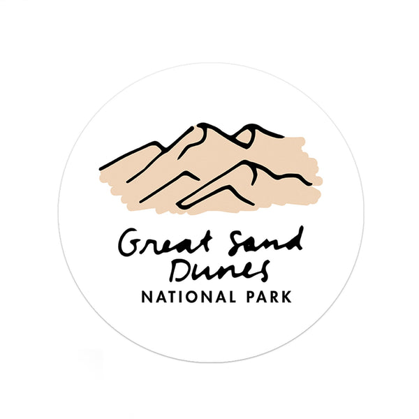 Great Sand Dunes National Park Sticker - Albion Mercantile Co.
